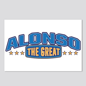 The Great Alonso Postcards (Package of 8)