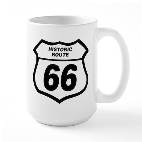 66 Sign Mug