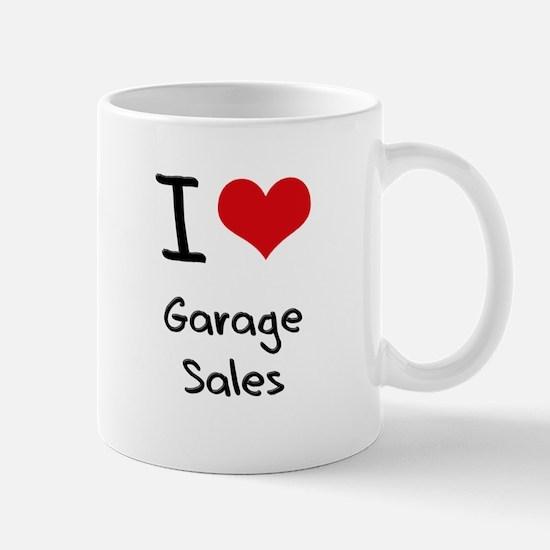 I Love Garage Sales Mug