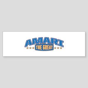 The Great Amari Bumper Sticker