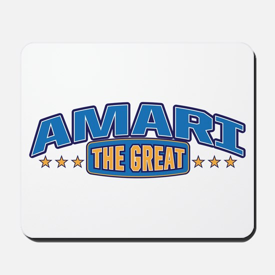 The Great Amari Mousepad
