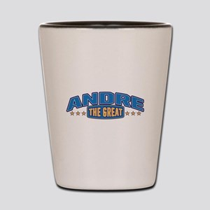 The Great Andre Shot Glass