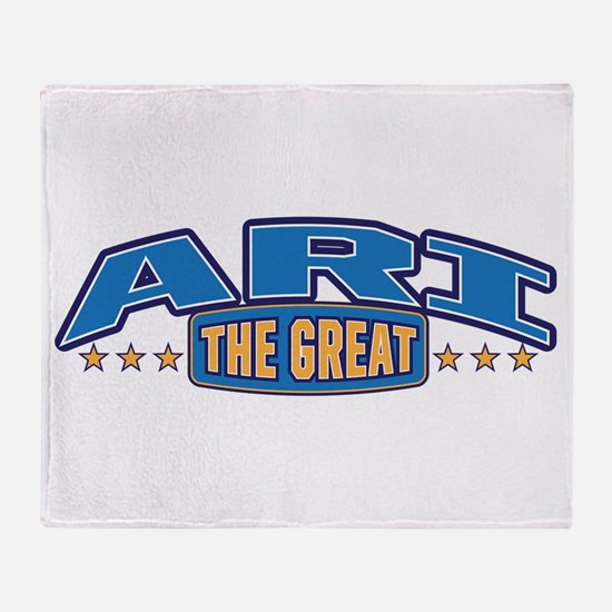 The Great Ari Throw Blanket