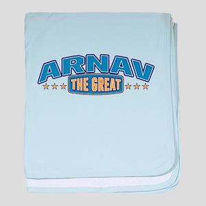 The Great Arnav baby blanket