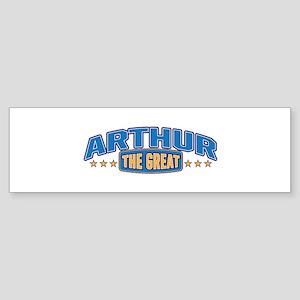 The Great Arthur Bumper Sticker