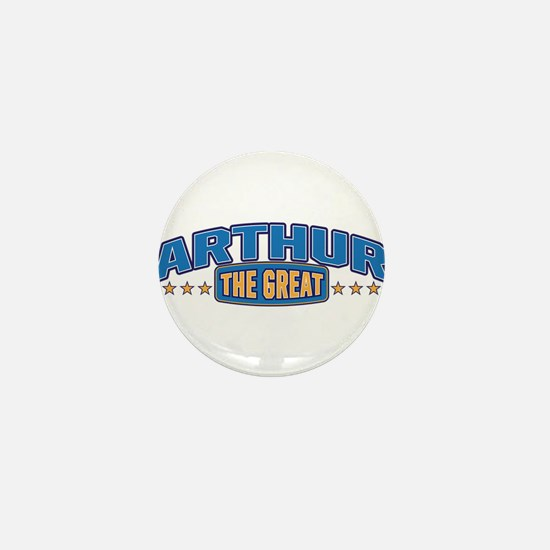 The Great Arthur Mini Button