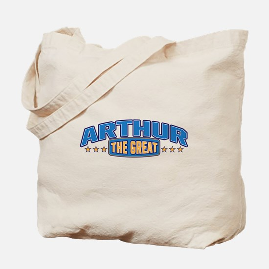 The Great Arthur Tote Bag