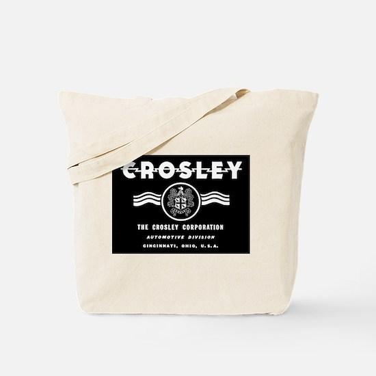 CROSLEY Automobiles, 1939-1942. Tote Bag