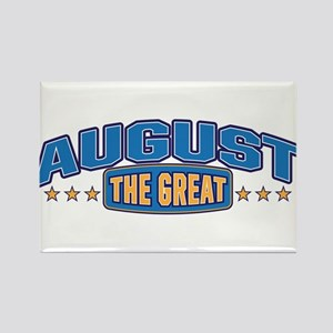 The Great August Rectangle Magnet