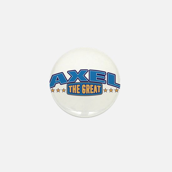 The Great Axel Mini Button