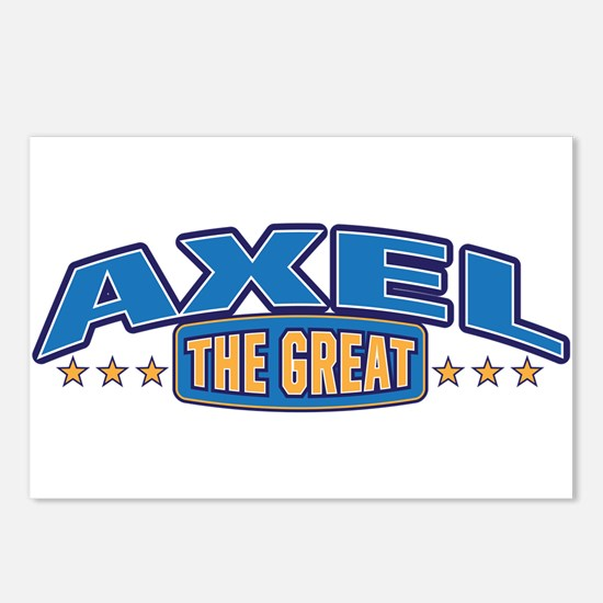 The Great Axel Postcards (Package of 8)