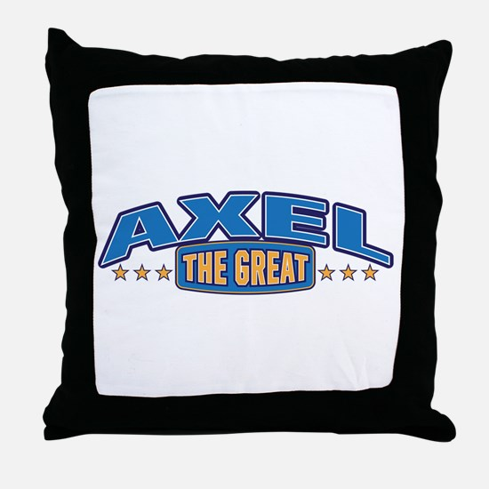 The Great Axel Throw Pillow