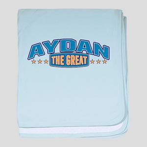 The Great Aydan baby blanket