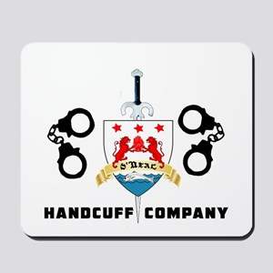 ONeal Handcuff Company Mousepad