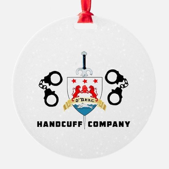 ONeal Handcuff Company Ornament