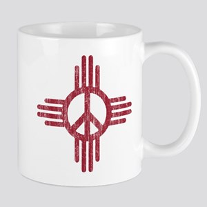 New Mexico Peace Sign Mug