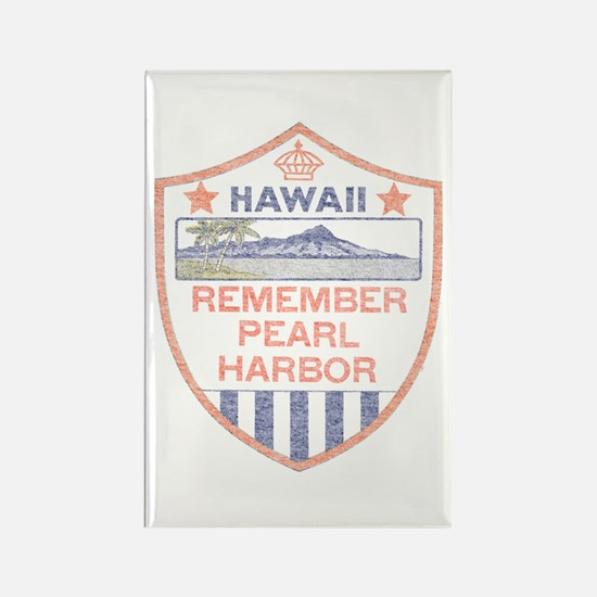 Remember Pearl Harbor Rectangle Magnet