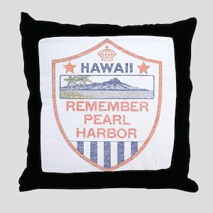 Remember Pearl Harbor Throw Pillow