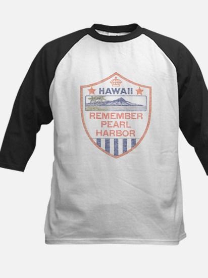 Remember Pearl Harbor Kids Baseball Jersey