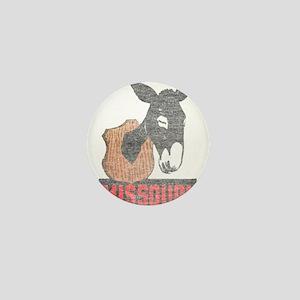 Vintage Missouri Jackass Mini Button
