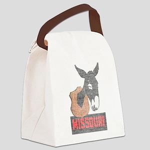 Vintage Missouri Jackass Canvas Lunch Bag