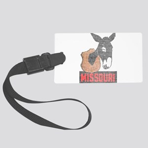 Vintage Missouri Jackass Large Luggage Tag