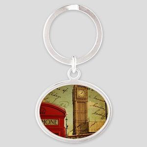vintage London UK fashion Keychains