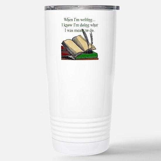 When I write Travel Mug