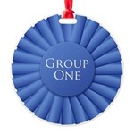 Group One Metal Medallion