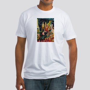 Halloween Party Fitted T-Shirt