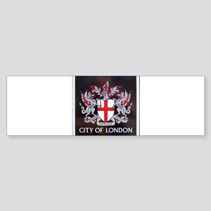 City of London Crest Bumper Sticker