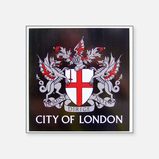 City of London Crest Sticker
