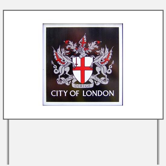City of London Crest Yard Sign