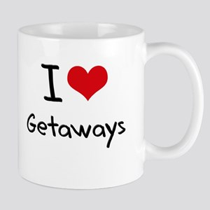 I Love Getaways Mug