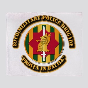 Army - SSI - 89th Military Police Brigade Throw Bl