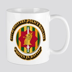 Army - SSI - 89th Military Police Brigade Mug