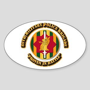 Army - SSI - 89th Military Police Brigade Sticker