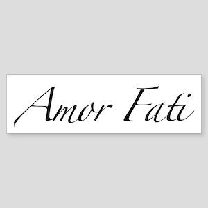 Amor Fati Bumper Sticker