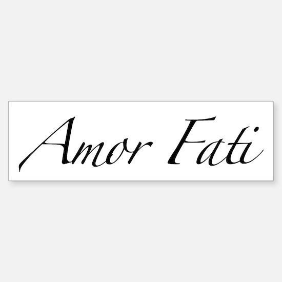 Amor Fati Bumper Bumper Bumper Sticker