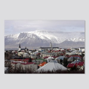 Reykjavik Blues Postcards (Package of 8)