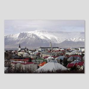 Reykjavik Blues Postcards (Package of 8)