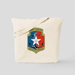 USS Texas (CGN 39) Tote Bag
