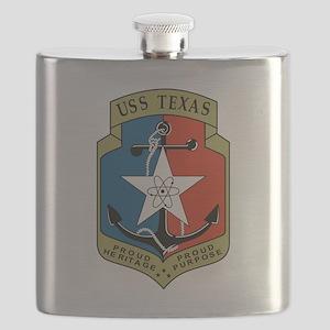 USS Texas (CGN 39) Flask
