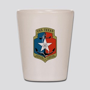 USS Texas (CGN 39) Shot Glass