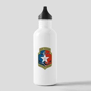 USS Texas (CGN 39) Water Bottle