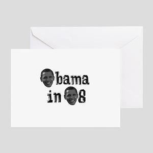Obama in 08 Greeting Cards (Pk of 10)