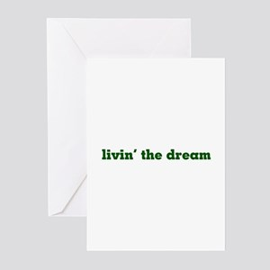 Livin' the Dream Greeting Cards (Pk of 10)