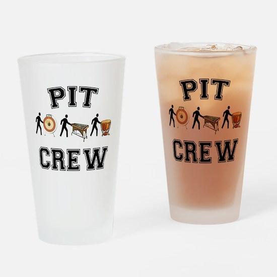 Pit Crew Drinking Glass