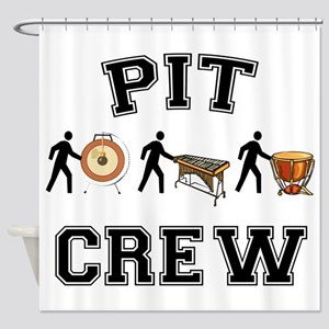 Pit Crew Shower Curtain