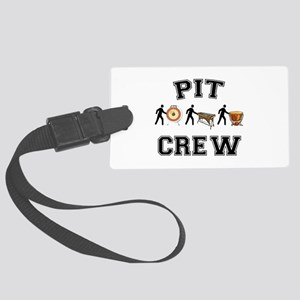 Pit Crew Large Luggage Tag
